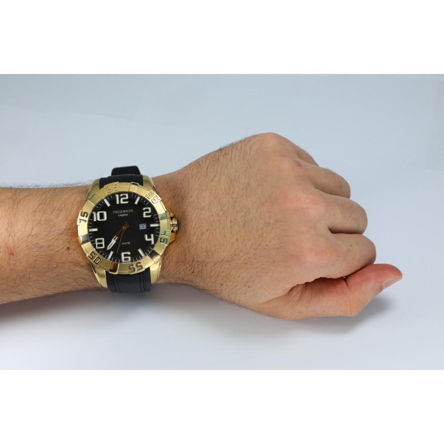 d7f7621458bce Relógio Technos Legacy Masculino 2315AAHA 8P com Pulseira de Silicone