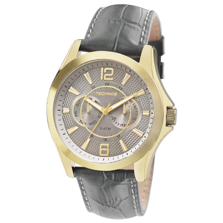 d096e916ed2 Relógio Technos Masculino Dourado Grandtech Multifunção 6P25AW 2C