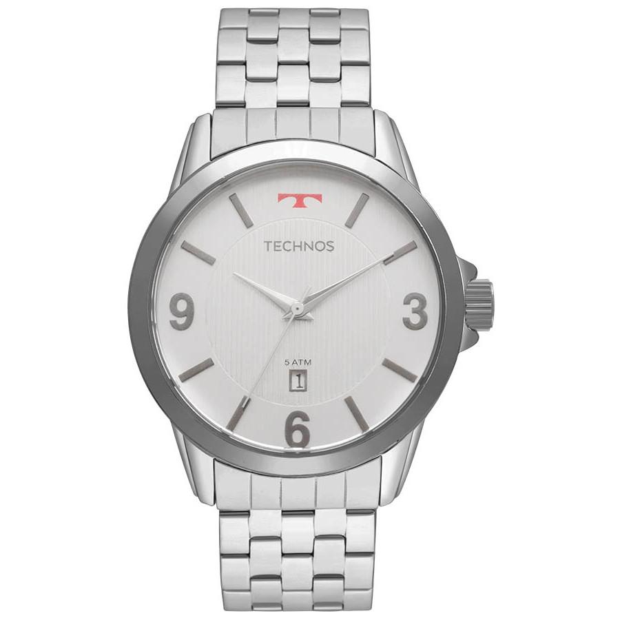 Relógio Technos Prateado Masculino Classic Steel 2115KNG 1B - Marcas cef63c48c7