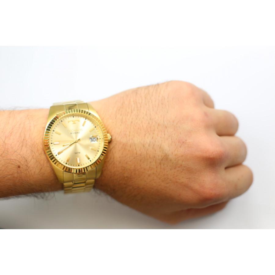 Relógio Technos Dourado Feminino Classic Riviera 2415CH 4X 09194c913a