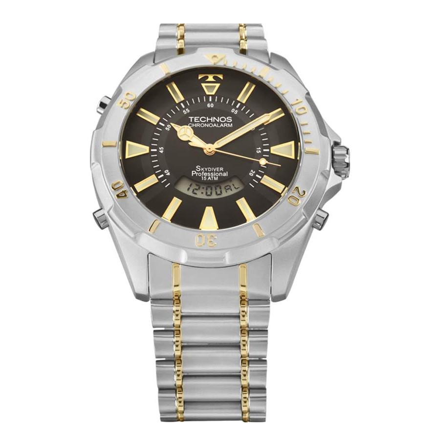 Relógio Technos Skydiver Masculino Performance T205FQ 5P 1388c58530