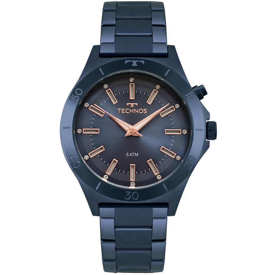 Relógio Technos Feminino Azul Fashion Trend Y121E3AC 4A c12da2125b