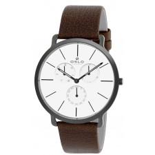 edbbf23b134 Relógio Oslo Masculino Pulseira de Couro OMPSCMVD0001B1NX