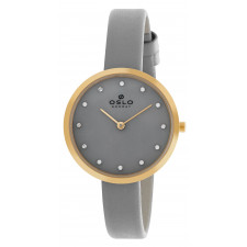 758f70c8ec2 Relógio Oslo com Pulseira de Couro OFGSCS9T0002I1GX