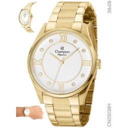 97c72949fca Relógio Champion Feminino Elegance Dourado CN25038H