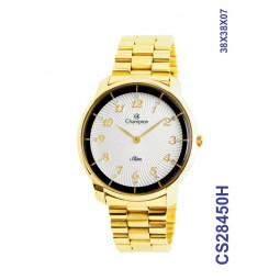 1ba940bd97d Relógio Champion Feminino Dourado Slim Analógico CS28450H
