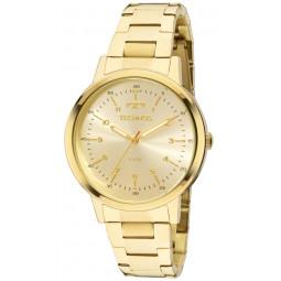 Relógio Technos Dourado Feminino Elegance Dress 2035MFN 4D 3606051f69