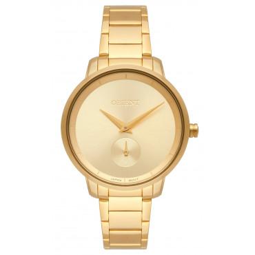 d7f3995a168 Relógio Orient Feminino Dourado Analógico FGSS0121C1KX. 10x de R  46