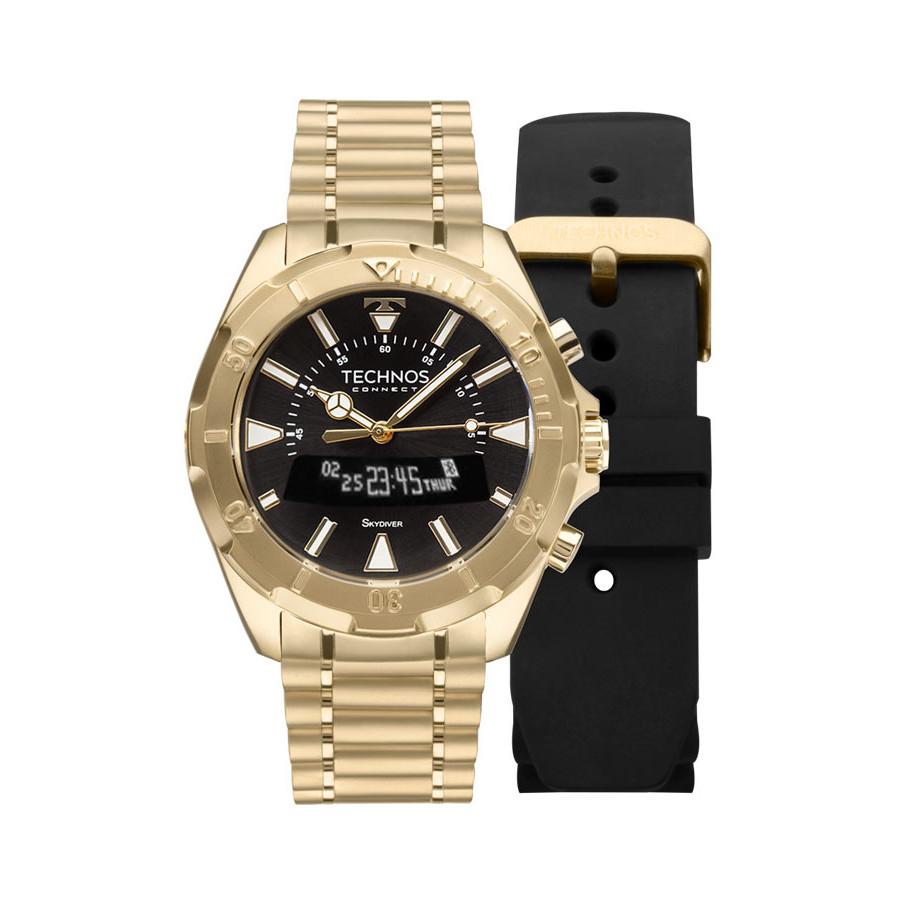 relogio-technos-dourado-masculino-performance-connect-scab4p_1